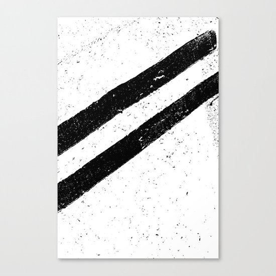 STREET SLANG / Stripes 1 Canvas Print
