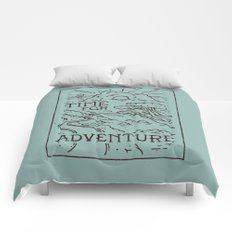 Time For Adventure Comforters