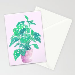 Tropical Houseplant Stationery Cards