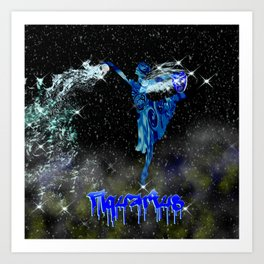 Aquarius Astrology Sign Art Print