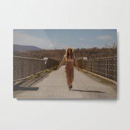Toni, Feel-good Portrait Metal Print
