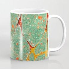 Marbled Green Orange 2A Mug