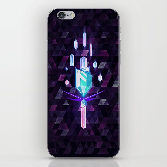 crystyl tyrrch iPhone & iPod Skin