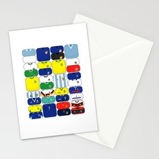 World In Motion III Stationery Cards