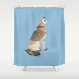 Wolf. Shower Curtain