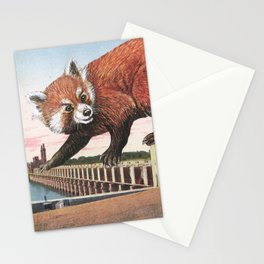 And with that, she sets off on the journey home Stationery Cards