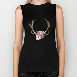 The Anatomy of Flowers Biker Tank