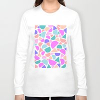 icecream Long Sleeve T-shirts featuring ICECREAM by Isabella Salamone
