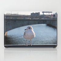 charlie iPad Cases featuring Charlie by Chris Cooch