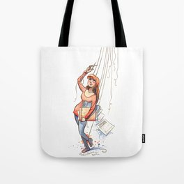 Free Puppet Tote Bag