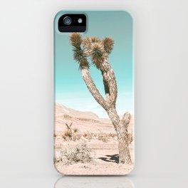 Vintage Desert Scape // Cactus Nature Summer Sun Landscape Photography iPhone Case