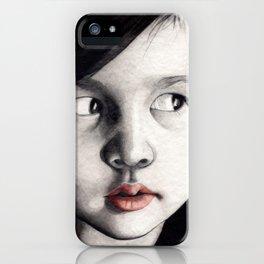 oriental girl iPhone Case