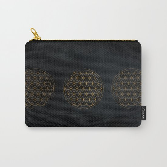 Flower of life illustration Carry-All Pouch