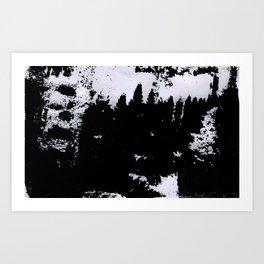 smudge Art Print