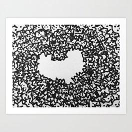 iheartcats Art Print