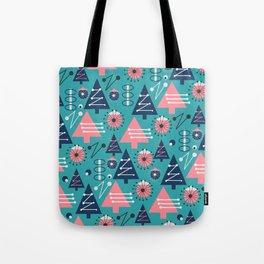 Mid-century modern Christmas Tote Bag