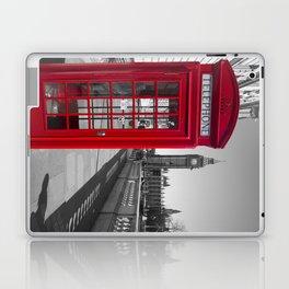 Big Ben and Red telephone box Laptop & iPad Skin