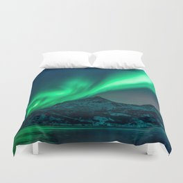 Aurora Borealis (Northern Lights) Duvet Cover