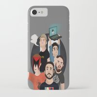 gaming iPhone & iPod Cases featuring Inside Gaming by Kaguesna