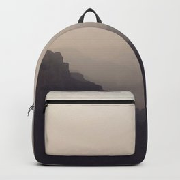 Smoky Hazy Sunset in the Grand Canyon Backpack