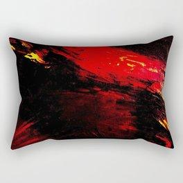Abstract Heat by Robert S. Lee Rectangular Pillow