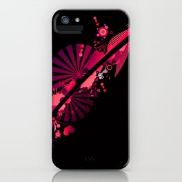 abstract concept iPhone Case