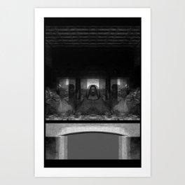 Alien Supper Art Print