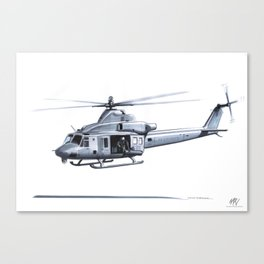 BELL UH-1Y VENOM Canvas Print