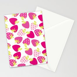 Sweet Berries Stationery Cards