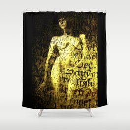 Nude Art Collage Shower Curtain