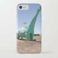 dino iPhone & iPod Cases featuring dino by Natalie Jeffcott