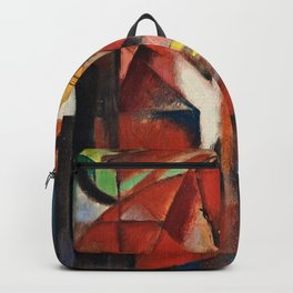 Franz Marc  -  The Foxes Backpack