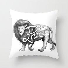 Pride Lion Throw Pillow