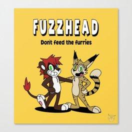 Fuzzhead Canvas Print
