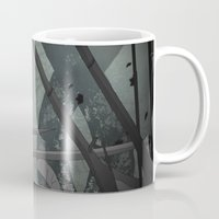 chameleon Mugs featuring Chameleon by Andrew Formosa