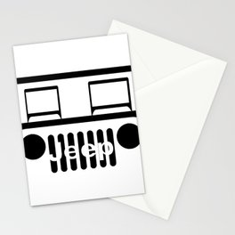 Jeep Logo Stationery Cards