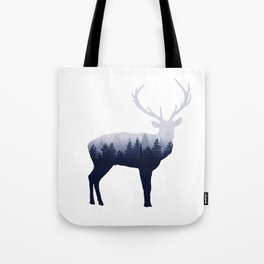 Forest Stag Tote Bag