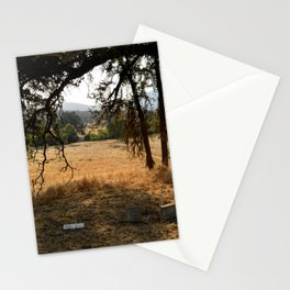cemetery glow Stationery Cards
