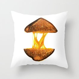 Grilled Cheese Throw Pillow