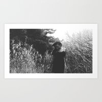 Lost in the world. Art Print
