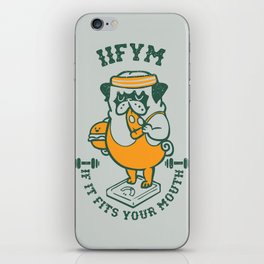 IIFYM (If It Fits Your Mouth) iPhone Skin