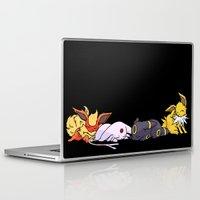 giants Laptop & iPad Skins featuring Sleeping Giants by Tdrisk46