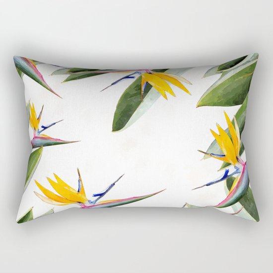 Bird of Paradise #society6 Rectangular Pillow