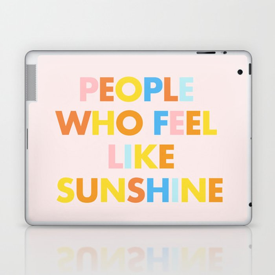 Sunshine People Laptop & iPad Skin