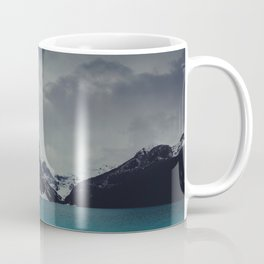 Lake Louise Winter Landscape Coffee Mug