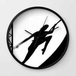 aerial acrobatics Wall Clock