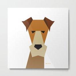 Fox Terrier Metal Print