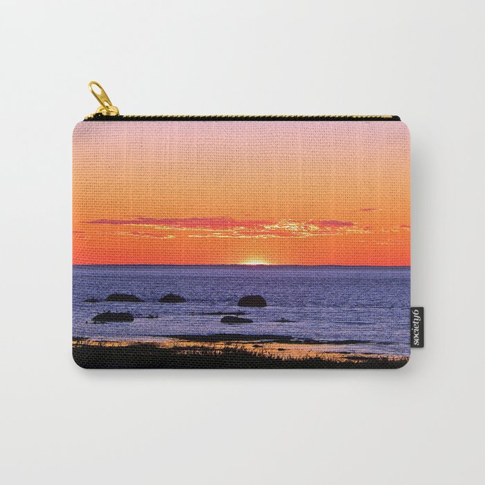 Stunning Seaside Sunset Carry-All Pouch