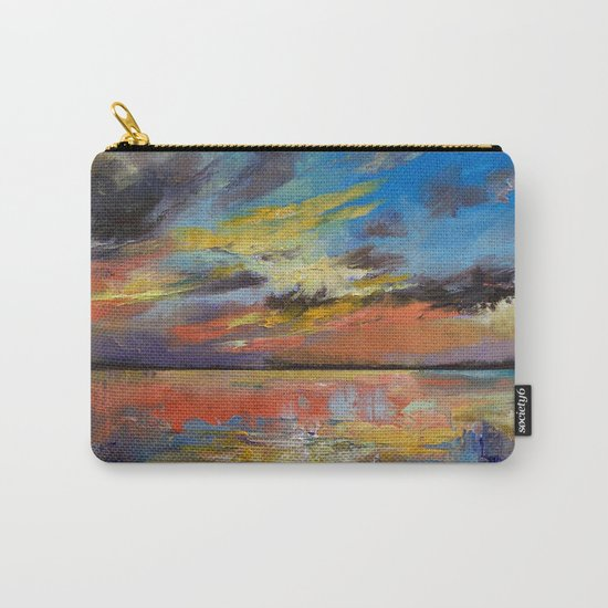 Key West Florida Sunset Carry-All Pouch