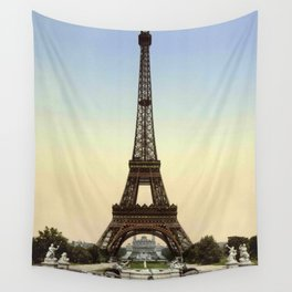 Eiffel tower 1- in 1900 Wall Tapestry